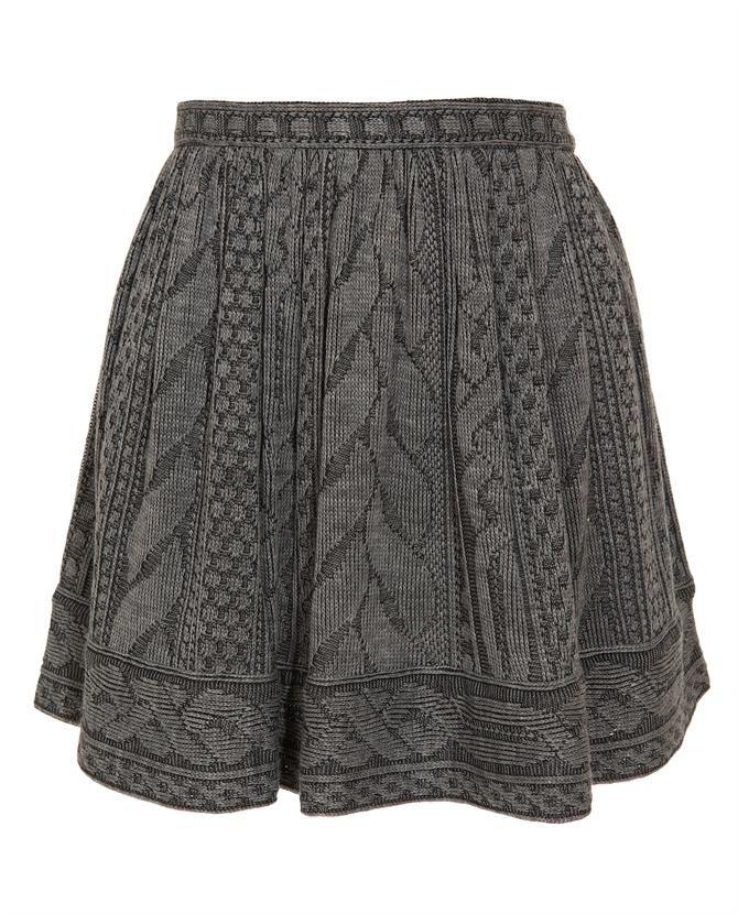 Skater Skirt Knitting Pattern