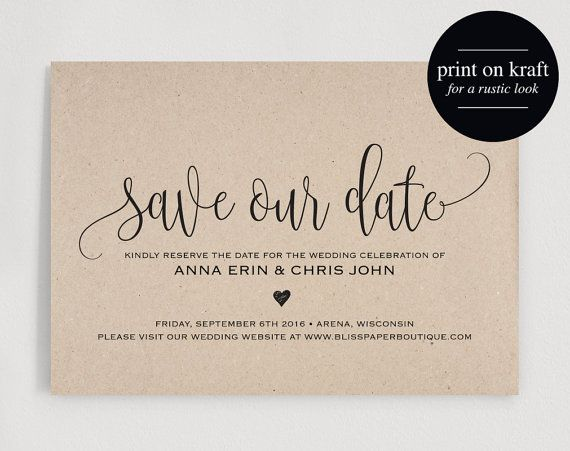 Hold Date Wedding Cards
