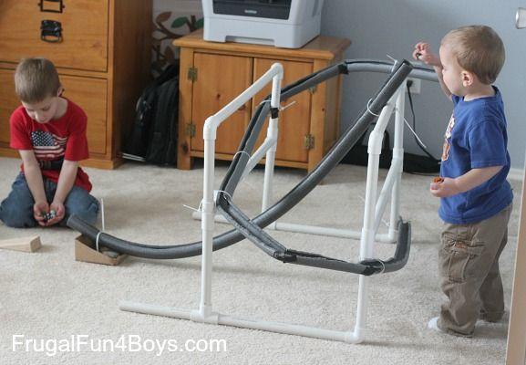 Roller Paper Coaster Build
