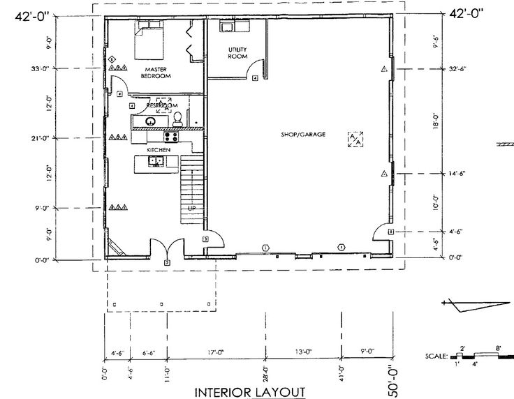 Machine Shed House Floor Plans