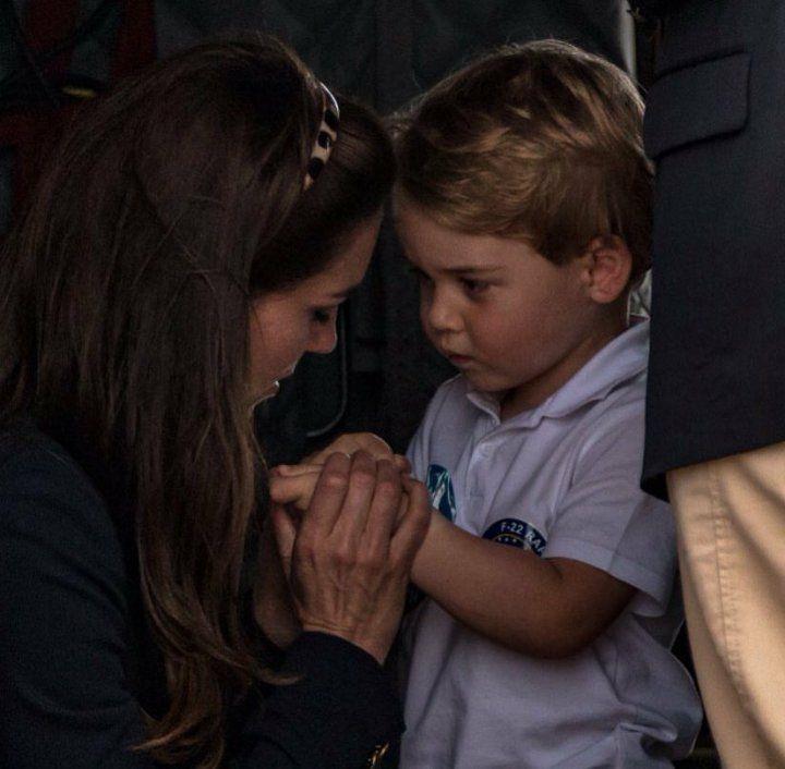 Kate And Prince George Mom