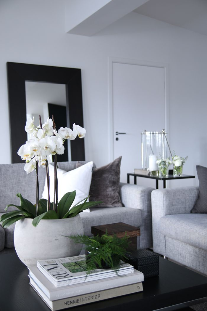 Grey And White Home Decor
