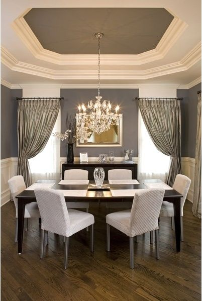 Give Your Dining Room An Upgrade Painted Ceilings The