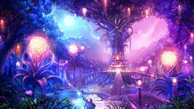Tree Landscapes Imaginary