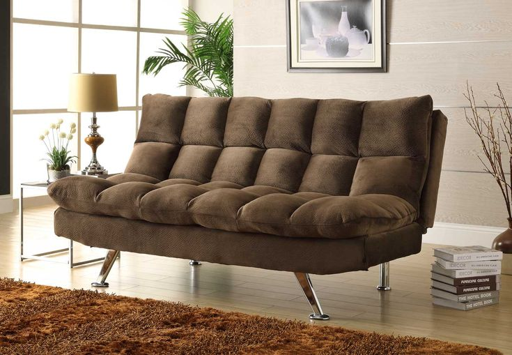 Sectional Recliner Sofa Cup Holders Chocolate Microfiber