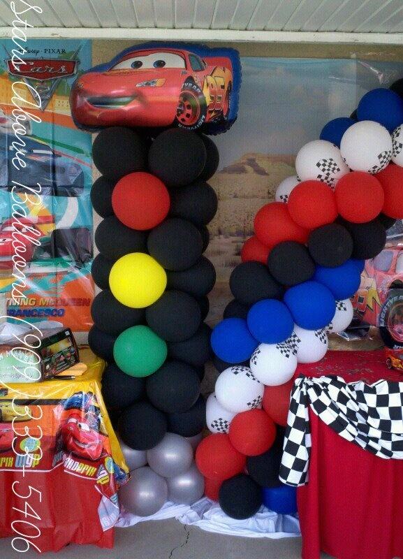 Birthday Wall Car Decoration Theme