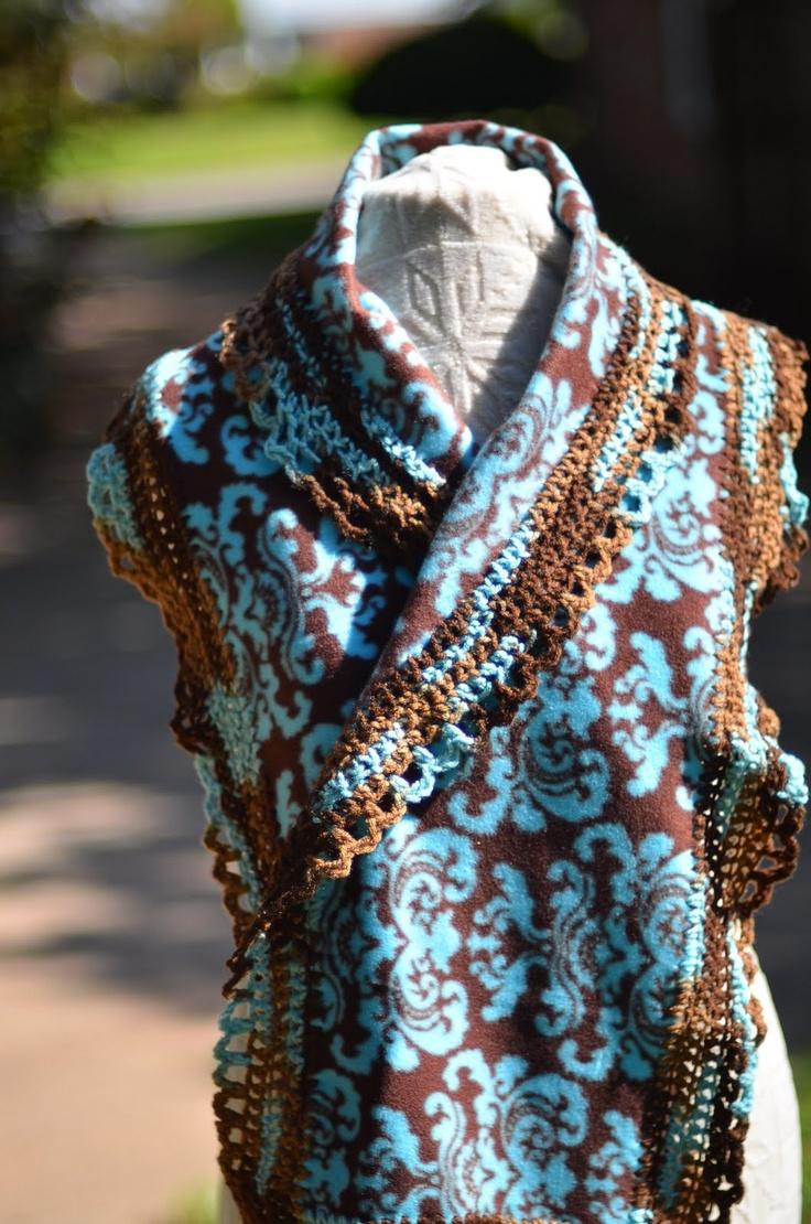 Scarf Patterns Pinterest Infinity Crochet