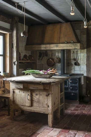 Old Country Style Kitchen