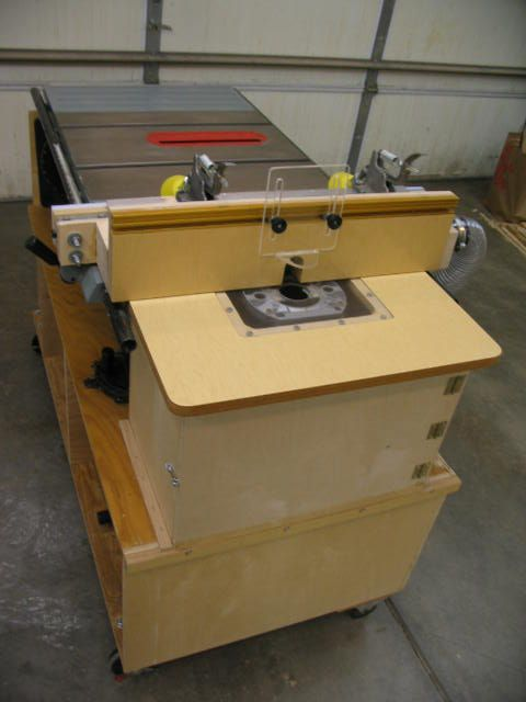 Diy Table Saw Router Combo