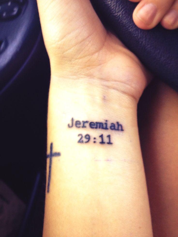 Jeremiah 29 11 Tattoo Designs