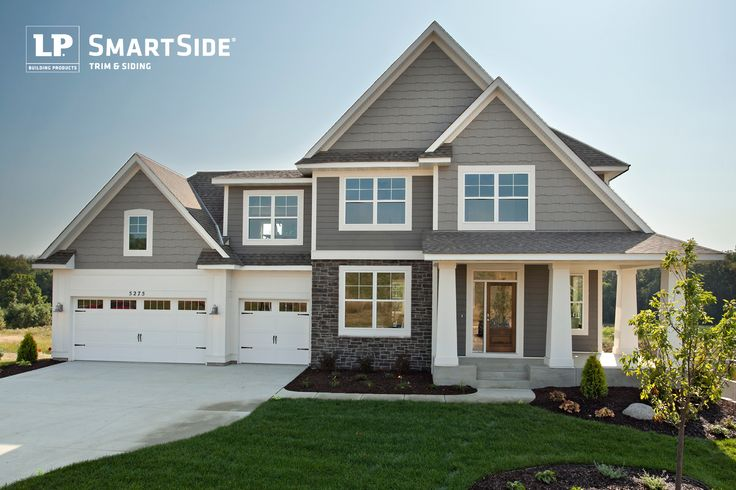 An Inviting Home Featuring Lp Smartside Trim And Siding