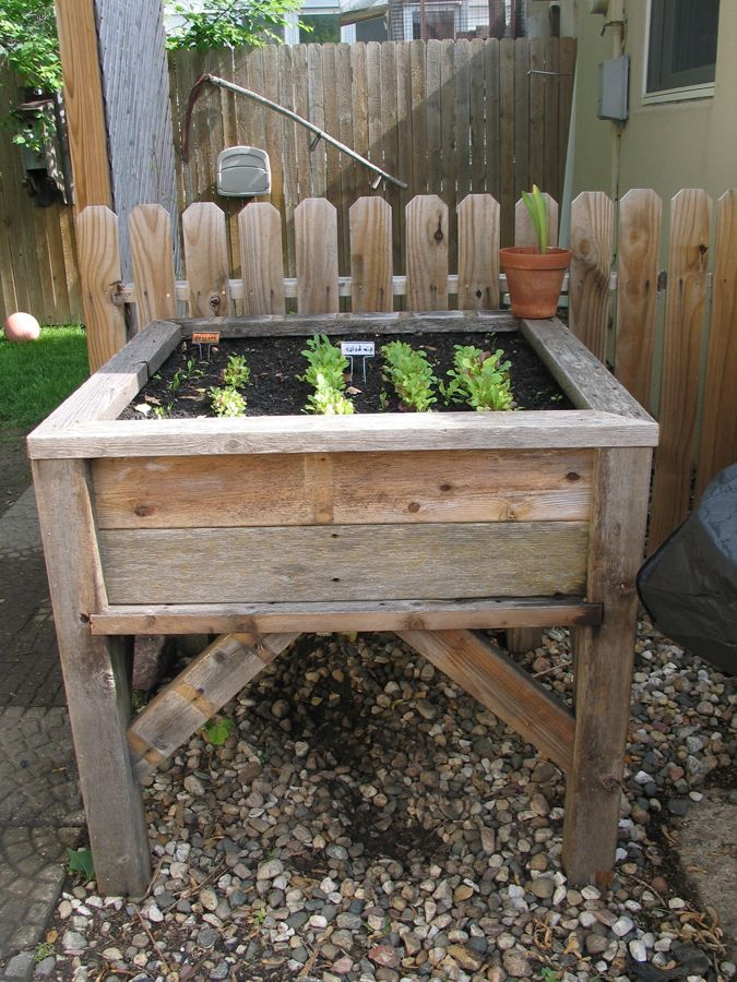 Above Ground Planter Box
