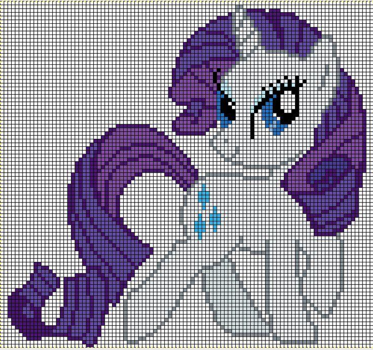 Sparkle Pixel Grid Twilight Art
