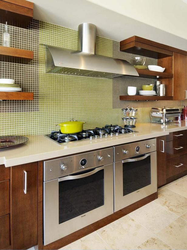 Contemporary Kitchen Tile Ideas