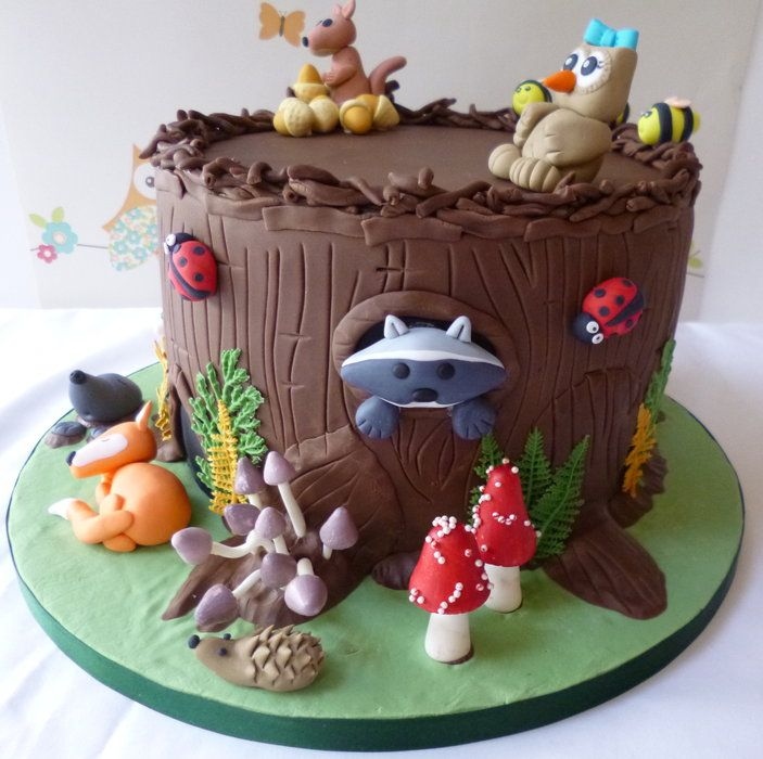 1172 best images about Woodland Cakes on Pinterest ...