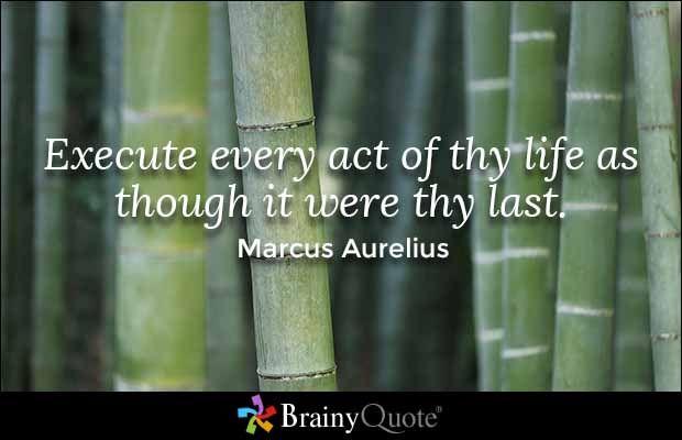 No Man Marcus Arguing More About Time Aurelius What Be One Waste Should Good Be