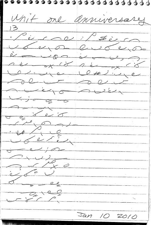 Gregg Shorthand Numbers