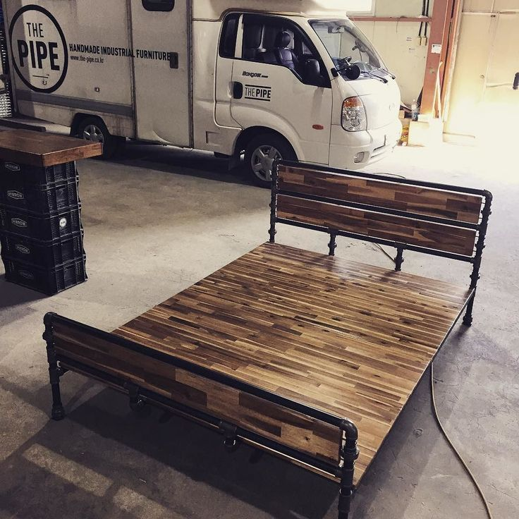 177 Best Images About Beds Made With Pipe On Pinterest