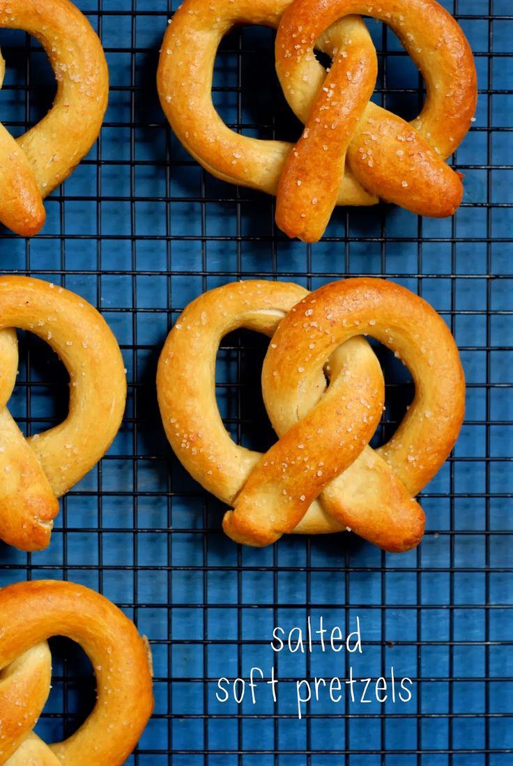 No Yeast Soft Pretzels Recipe
