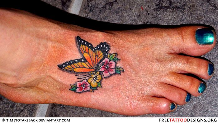 Dragonfly Foot Your Tattoos