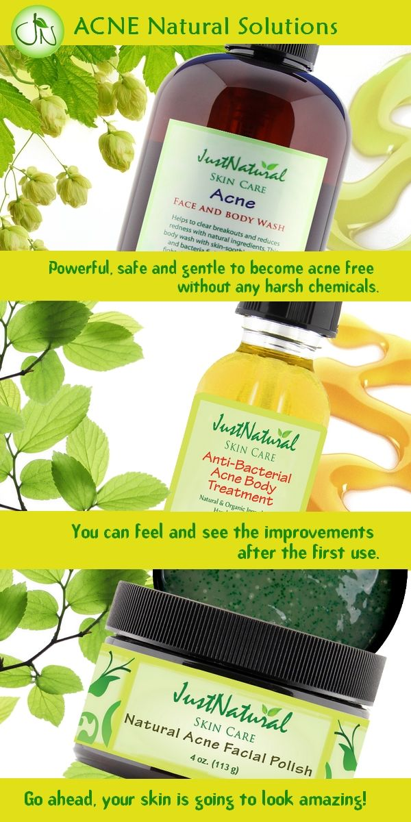 Skin Care Products Without Chemicals
