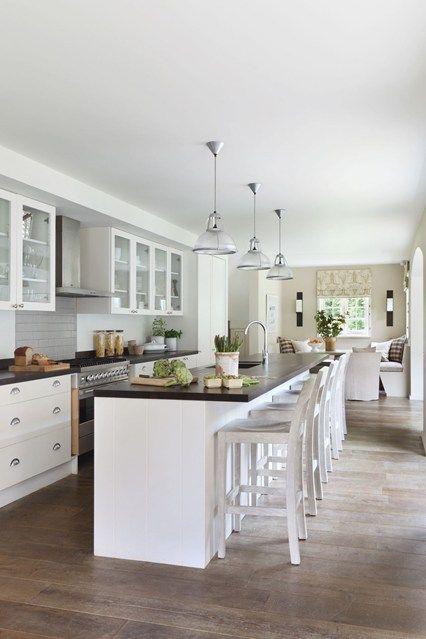 Long Narrow Kitchen Diner