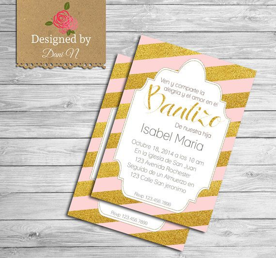 Baptism Invitations Packs