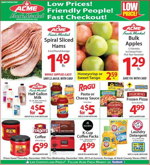 Acme Fresh Market Easter Hours