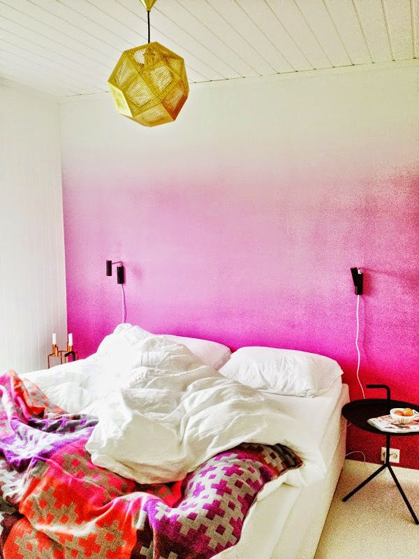 1000 Images About Ombre Wall Inspiration On Pinterest