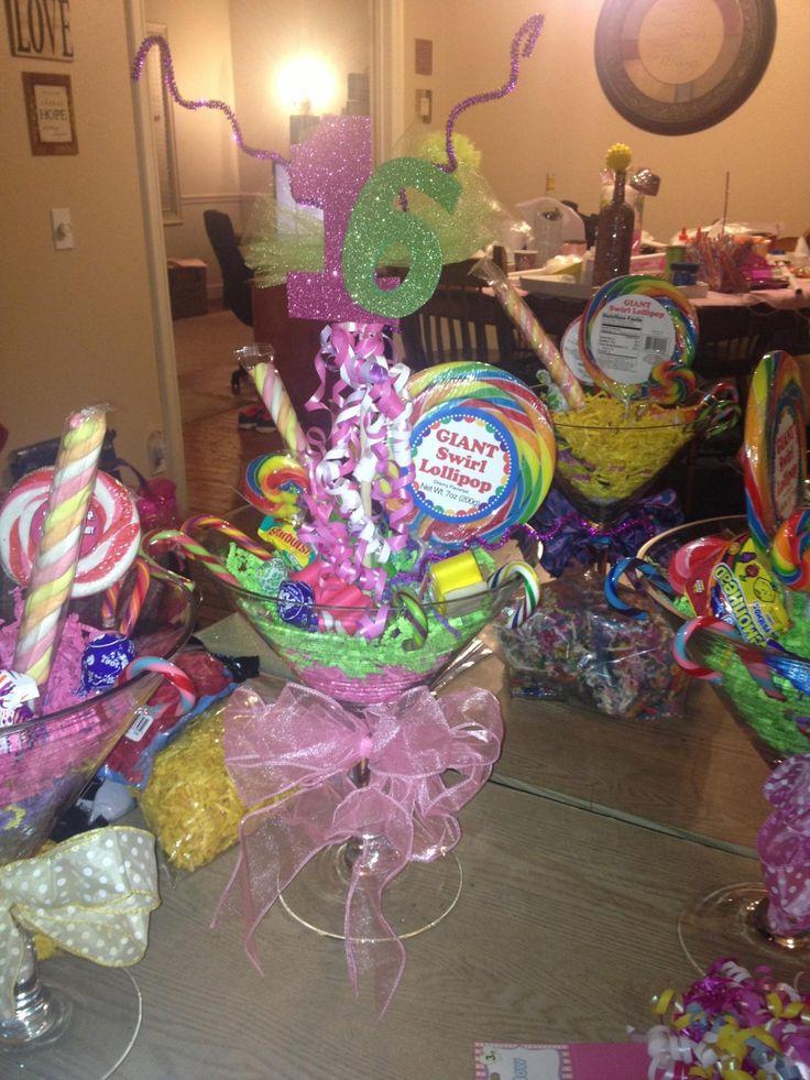 Candyland Sweet 16 Ideas