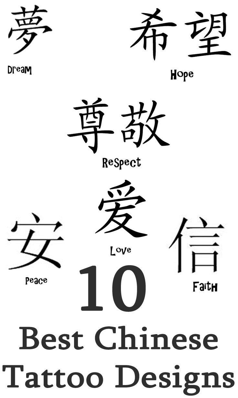 Chinese Karma Symbol Tattoos Good