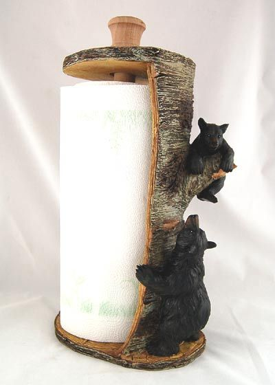 Country Paper Towel Holders
