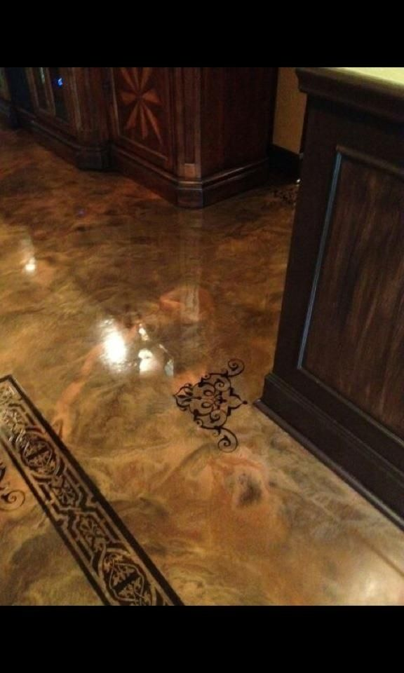 Paint Indoor Concrete Floors