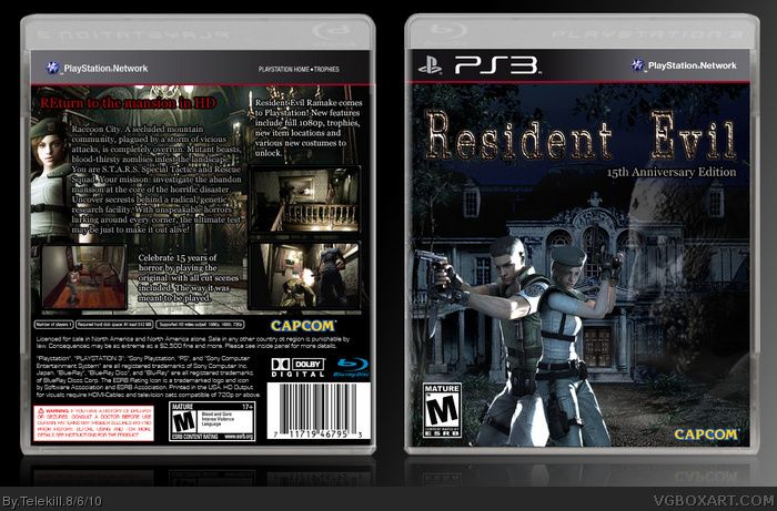 Resident Evil Remake Hd Cover