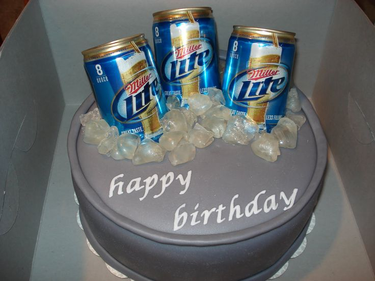 Miller Lite Cake Decorating Ideas