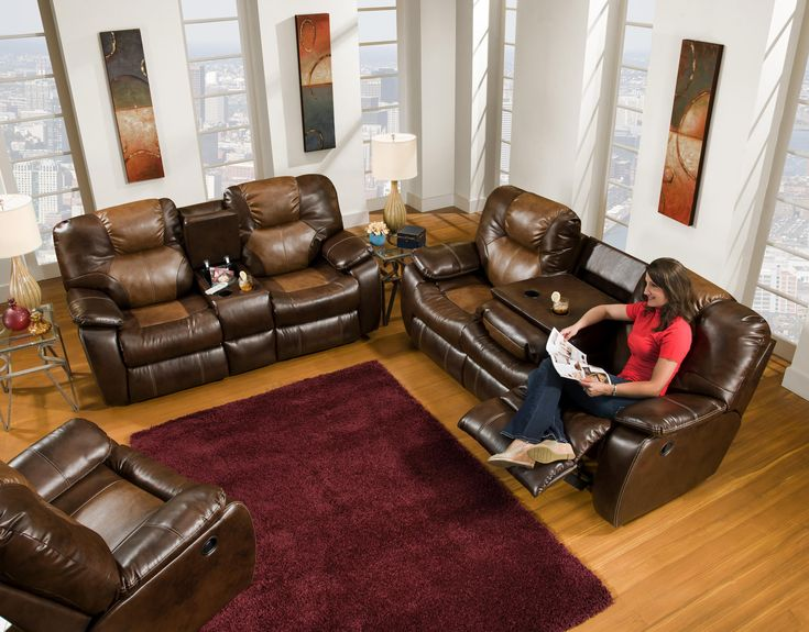 Family Leather Set Room