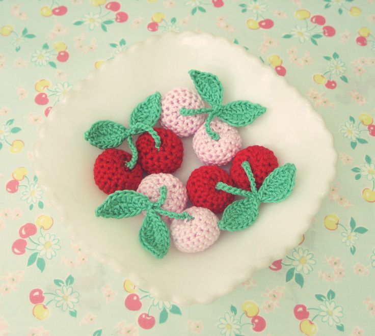 Knitted Baby Hats Fruit