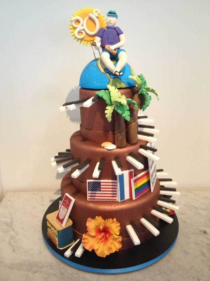 1000 Images About Cakes 80th Birthday On Pinterest