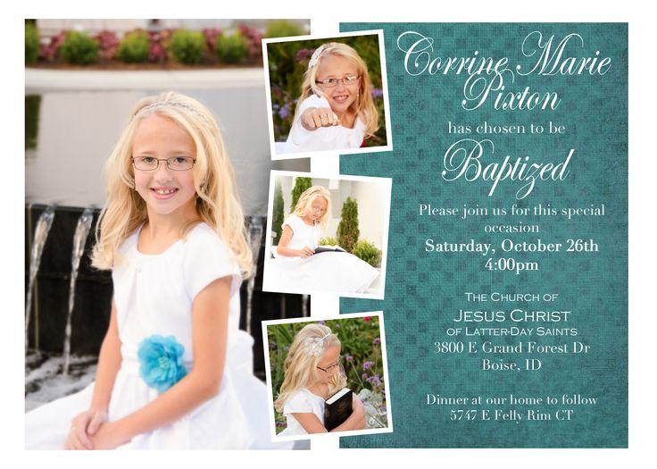 Baby Dedication Invitations
