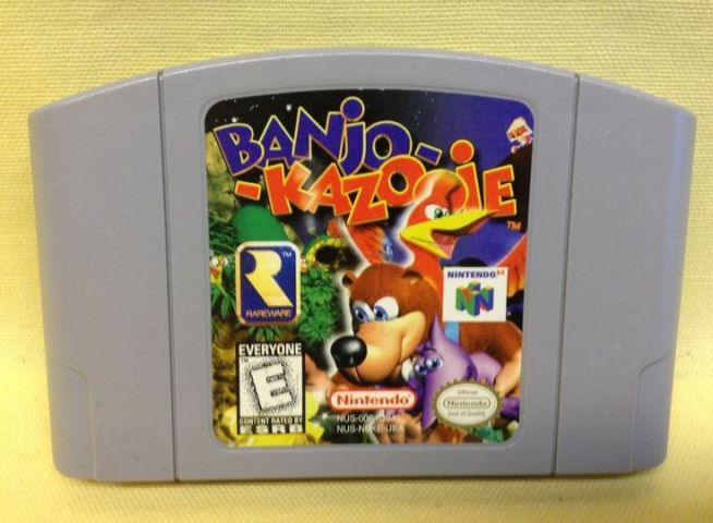 Banjo Kazooie Nintendo 64 N64 Game Cartridge Only Free Shipping     Banjo Kazooie Nintendo 64 N64 Game Cartridge Only Free Shipping   Them  There Video Games   Pinterest   Nintendo 64 Peli ja Nintendo