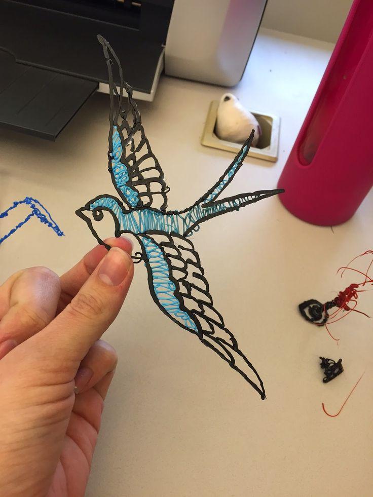 3doodler Pen Dragon Templates