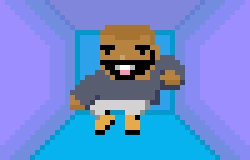 Minecraft Tv Art Pixel Characters