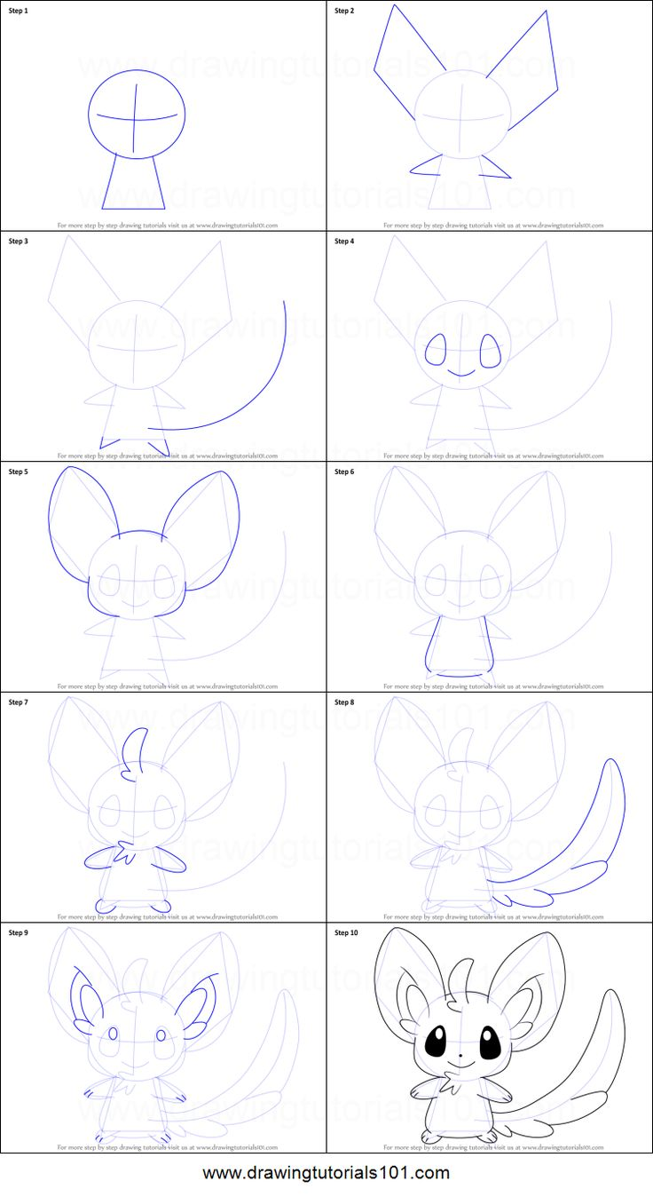 Pokemon Minccino Coloring Pages