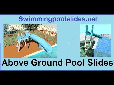 Above Ground Pool Slides All Swimming Pool Slides