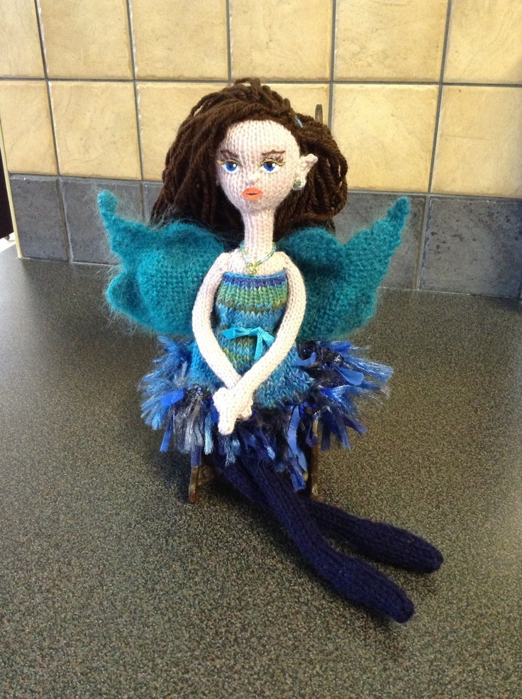 Fiona Mcdonald Knitted Doll