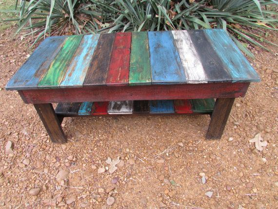 Multi Colored Rustic Furniture