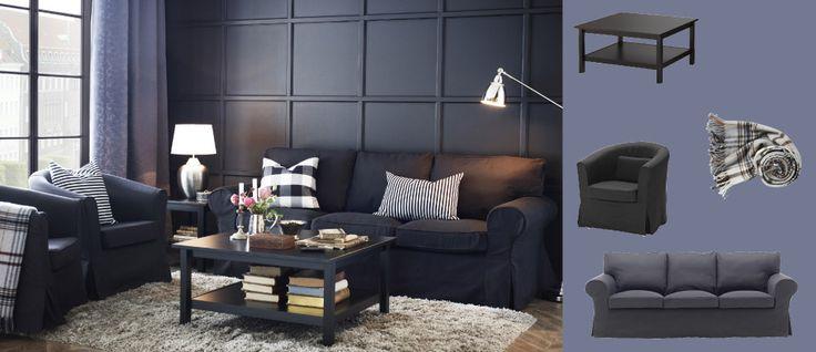 Colors Living Room Sofa Brown Wall