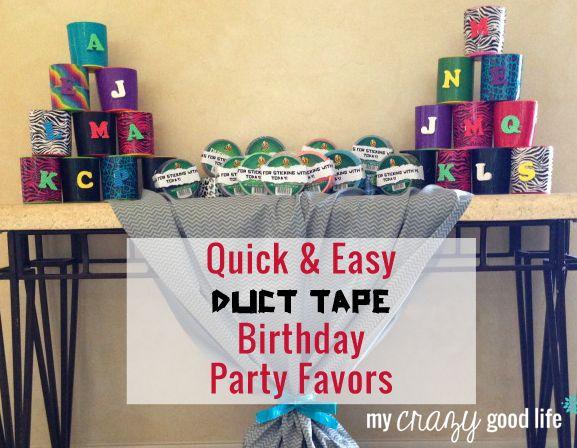 Quick Birthday Decorations