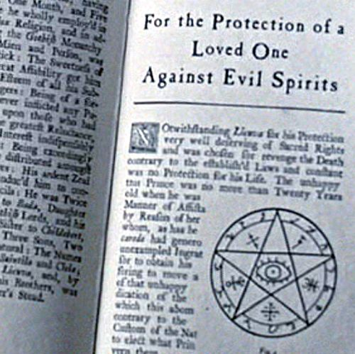 Protection Symbols Against Evil