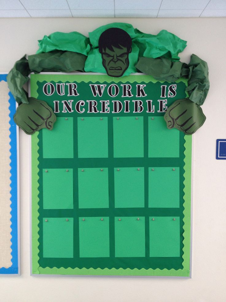 Incredible Hulk Bulletin Board Found A Cool Picture Of